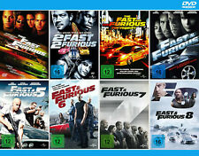 The Fast and the Furious 1+2+3+4+5+6+7+8 [DVD]