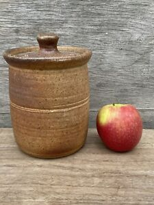 1) John Leach Muchelney Stoneware Studio Pottery Kitchen Storage Jar