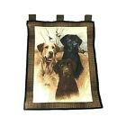 James Killen Wall Tapestry Hunting Dogs Chocolate Black & Yellow Labs