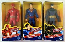 DC Justice League Figurines Batman, Superman, The Flash