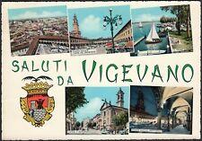 AD5501 Saluti da Vigevano (PV) - Vedute - Cartolina postale - Postcard
