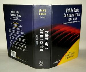 MOBILE RADIO COMMUNICATIONS (WILEY ) By Raymond Steele - Hardcover 1999 Signed