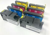 8 Ink Cartridges 200XL for Lexmark OfficeEdge Pro 4000 4000C 5500 5500T
