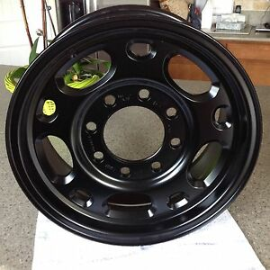 1999-2010 CHEVY SILVERADO 2500, GMC BLACK Set of ( 4) 2500 FACTORY OEM RIM WHEEL