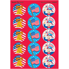 American Pride/Apple Pie Stinky Stickers® – Large Round Trend Enterprises Inc. T