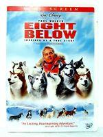 """""""EIGHT BELOW"""" DVD / 2006 / Paul Walker / Inspired By True Story / Disney"""