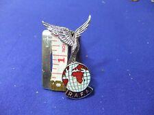 vtg badge royal air force rafa cap uniform raf eagle globe charity est 1943 rafa