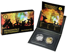 2009 Australian Two Coin Proof Set $1 and 20c International Year of Astronomy