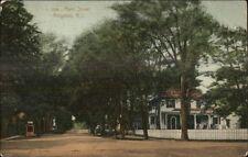 Kingston Ri Main St. c1910 Postcard #3