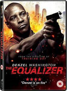 THE EQUALIZER DVD (2015) Denzel Washington Region 4 NEW & SEALED