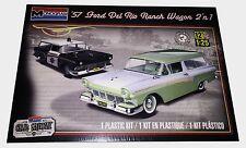 Revell Monogram 1957 Ford Del Rio Ranch Station Wagon 2 'n 1  Model Kit 1/25