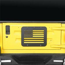 Spare Tire Delete Tailgate Vent Plate Cover For Jeep Wrangler TJ 97-06 Aluminum