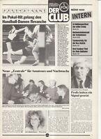 BL 87/88 1. FC Nürnberg - CLUB INTERN - März 1988