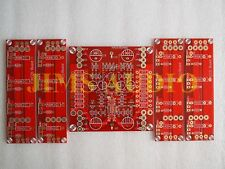 SE MOSFET full balanced 100W class A amplifier PCB 1 set 5 pcs based on alephX !
