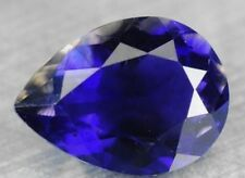 IOLITE 8 x 6 MM PEAR CUT ALL NATURAL
