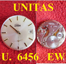 movimento arsa unitas u 6456 ew movement manual watch working vintage dial 31 mm