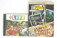Lot of 2 PC Games:The Game Of Life & Murder Mystery Mayhem