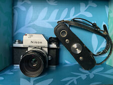 Nikon F Vintage Camera With Original Accessories
