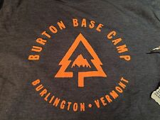 BURTON SNOWBOARD BASE CAMP REC T SHIRT TEE CAMISETA MAILLOT SIZE XL MEN NEW