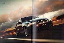 Volvo S60 R 2004-05 UK Market Sales Brochure