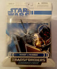 Star Wars Transformers Crossover TIE Pilot To TIE Bomber New Sealed 2008 For Sale