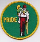 Vintage Mason Shriner Pride Round 3 inch Patch Unused