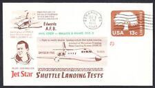 JETSTAR SPACE SHUTTLE MSBLS LANDING SYSTEM TEST FLIGHT 12-2-1976 Space Cover