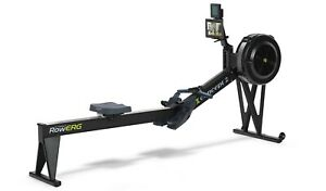 Concept2 Model E Indoor Rower with PM5 Performance Monitor - Black RowErg