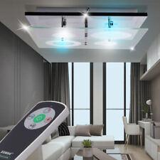 DESIGN LED Lampe de plafond clients chambre déco RGB Verre Spot Changeur couleur
