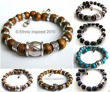 Wooden Beaded Bracelets for Men