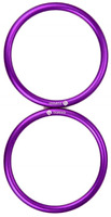 """Topind 3"""" Large Size Aluminium Baby Sling Rings for Baby Carriers & Slings of 2"""