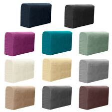 2PCS Removable Armrest Covers Furniture Stretchy Chair Sofa Couch Arm Protector>