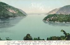 WEST POINT NY – Hudson River View Up from Hotel at West Point - udb (pre 1908)