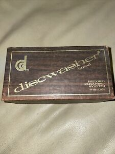 Vintage Discwasher Record Cleaner Brush Only In Originall Box