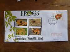 2018 FROGS LACE-LID FROG ILLUSTRATED FDC FIRST DAY COVER
