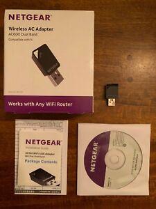 NETGEAR Wireless AC Adapter AC600 Dual Band
