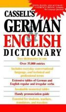 German English Dictionary by Cassell Staff (1986, Paperback)