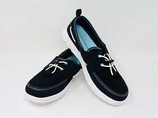 NEW Speedo Women Port Stability & Traction Around Water Shoe Black/White 7