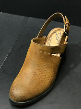 Natural Soul Womens Tally Shoes, Toffee, Size 9 M US New