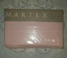Martex Twin Flat Sheet Baumwollmischung NEU in Paket Pink (#58)