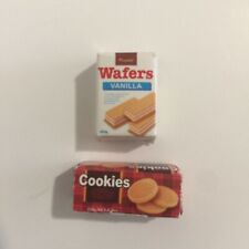 Sylvanian Families Calico Critters Supermarket Replacement Wafers and Cookies