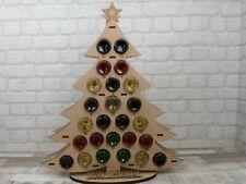 WINE ADVENT CALENDAR - UNIQUE CUSTOM CHRISTMAS GIFT - PERSONALISED - WOODEN XMAS