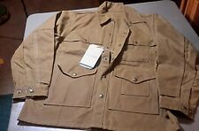FILSON MADE IN USA OIL FINISH TIN CLOTH CRUISER JACKET  size large, Seattle fit.