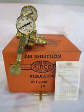 Vintage Post Wwii Brass 891 Airco Regulator Complete Original Box Amp Paperwork