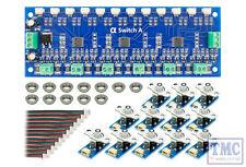 DCD-ASB DCC Concepts / Scale Cobalt Alpha Switch A Set Analogue (12 x Blue)
