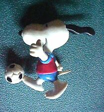 Peanuts Snoopy with Soccer Figurine