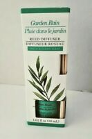 Reed Diffuser Garden Rain Scented  1.01 FL OZ With Reeds Fresh & Clean NEW