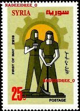 SYRIA SYRIE 2010 MNH LABOUR WORKER DAY FIRST OF MAY