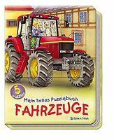 Mein tolles Puzzlebuch Fahrzeuge: Fünf 12-teilige Puzzle...   Buch   Zustand gut