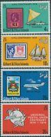 Gilbert & Ellice Islands 1974 SG232-235 UPU set MLH